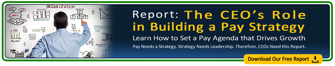 CEOs Role in Building a Pay Strategy White Paper